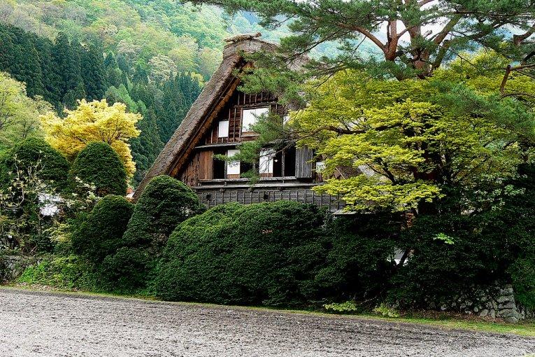 Shirakawa-go at Golden Week