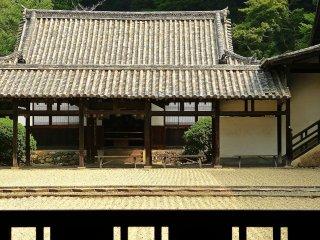 Un toit dans le style Ming