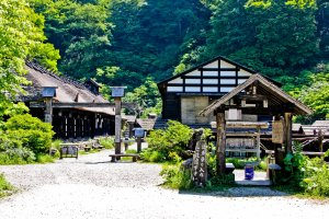 The picturesque and timeless Tsurunoyu Onsen