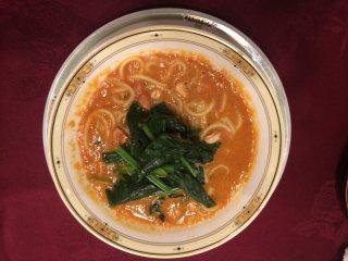 Tantan Noodles. Sesame and peanuts make a great combination