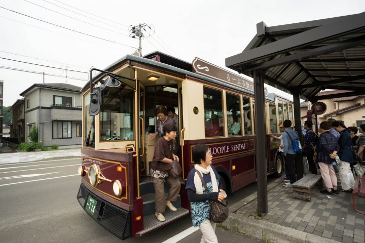 Loople Sendai Sightseeing Bus