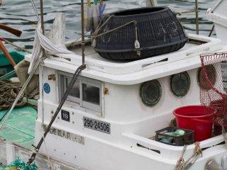 Squid boat detail