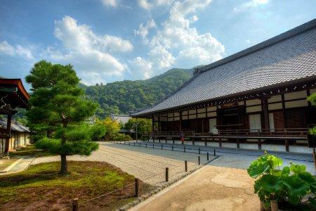 Tenryu-ji Temple in Summer