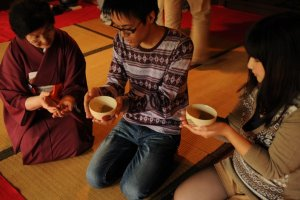 Anyone who is willing to learn about the Japanese tea ceremony is welcome to join ...