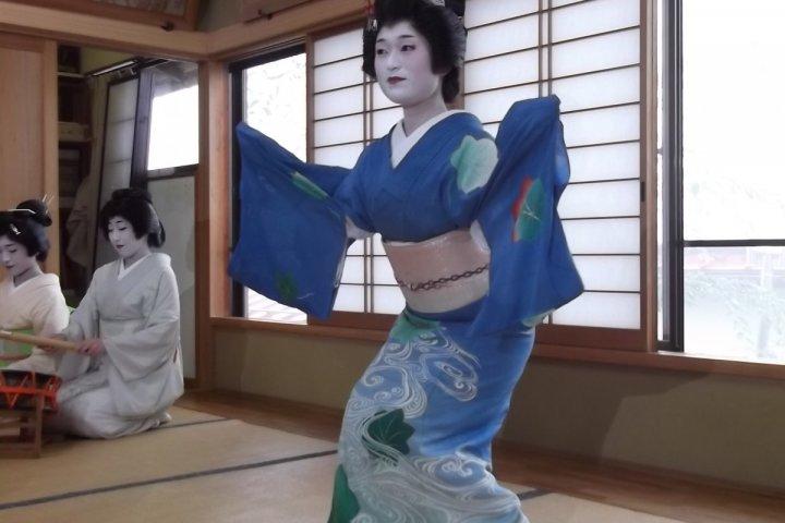 Une soirée avec les Geisha