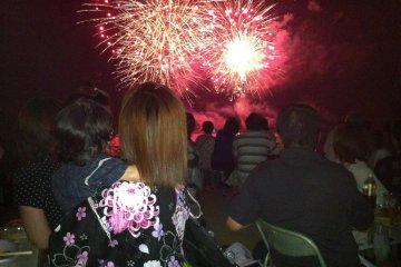 Kazahaya Fireworks Festival