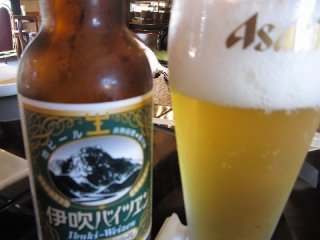 """나가하마로부터 아주 가까운 이부키산을 모티브로 한 """"이부키바이젠"""""""
