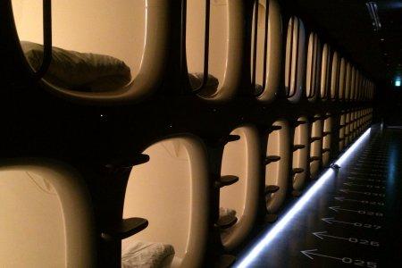 9h(나인아워즈): 나리타의 모던한 캡슐 호텔