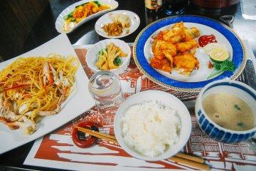 Lezatnya Hidangan di Hatago Ichiban