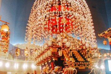 Potret Chichibu Night Festival Hall