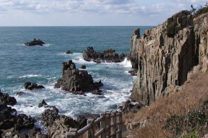 Fukui's Tojinbo Cliffs