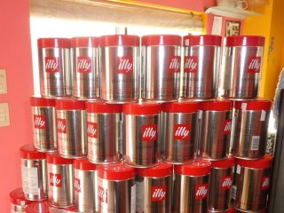 Illy's coffee beans