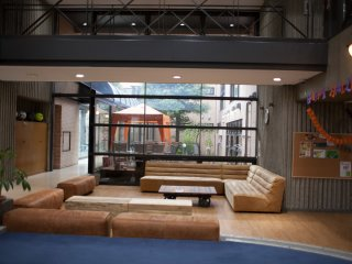 Lounge area for interaction