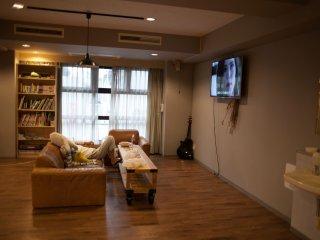Lounge area within kitchen