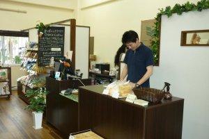 Owner Ryoichi Uechi