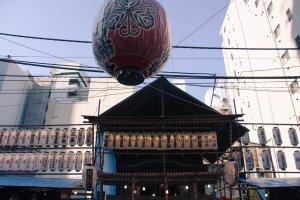 The Takarada Ebisu Jinja Shrine.