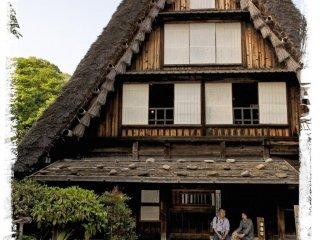 บ้าน Yamashita จากจังหวัดกิฟุ (ต้นศตวรรษที่ 19)