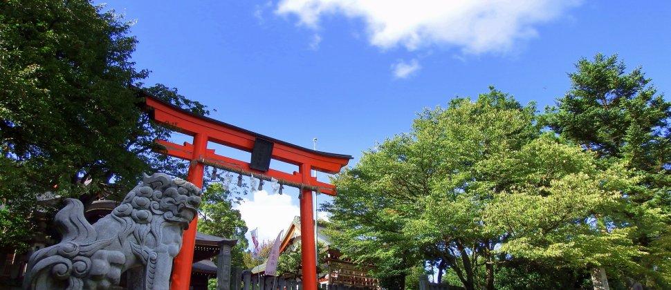 美しき藤島神社