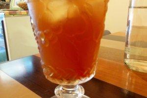 Ginger ice tea