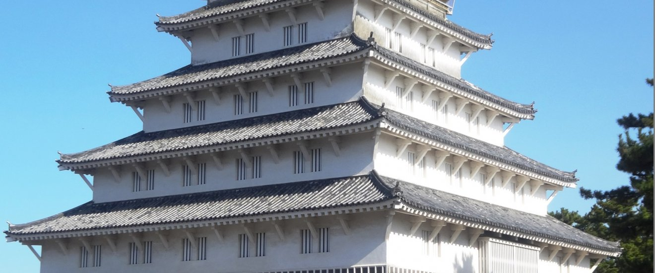 Le donjon principal du château de Shimabara