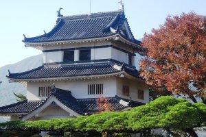 L'une des tours du château