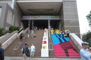 Spa World's Shinsekai entrance