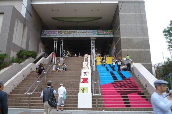 Spa World\'s Shinsekai entrance