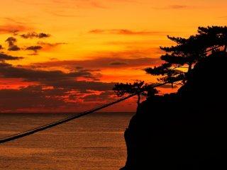 """Cet endroit est nommé """"Noto-kongo"""" et est très célèbre pour la beauté de son paysage"""