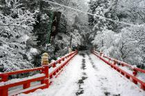 Tuyết rơi ở Honkokuji, Yamashina
