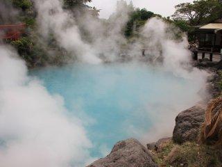 Gushing Hot Steam