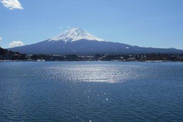 Penampakan Gunung Fuji dari 5 danau