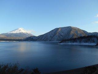 Le mont Fuji depuis Motosuko