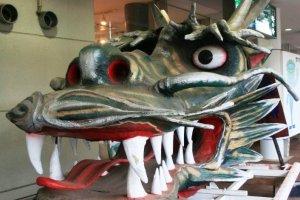 The Woman who transformed into a dragon at Tazawako