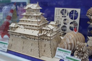 Miniature castle