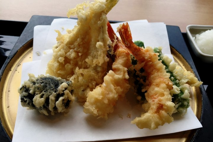 Lunch at Tempura Hisago
