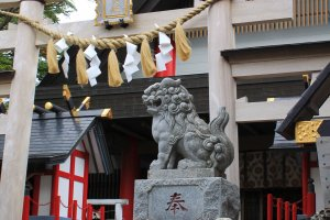 Komitake Shrine at the 5th station of Fuji