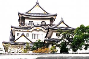 Kishiwada Castle, located between Osaka City and Kansai International Airport