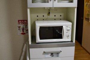 Peralatan dapur yang memadai