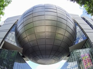 名古屋市科學博物館的建築