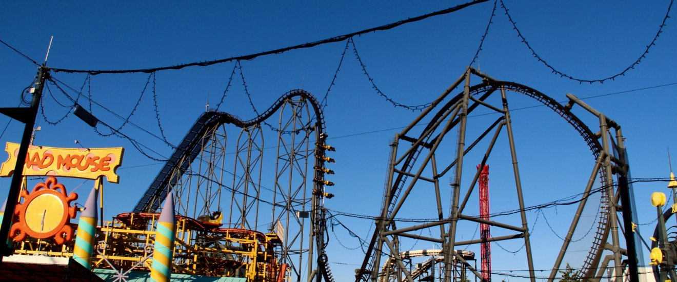 There are just two of this type of rollercoaster in the world, and one is here