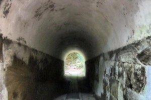 Passage through the island