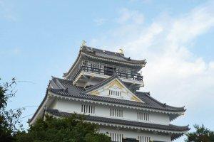The main keep of Gifu Castle