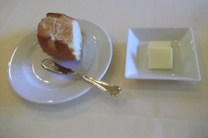 Fresh-baked bread