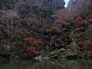 """""""Kotokei"""" (Ancient Peach Gorge), my favorite part of the whole cruise. I still can't believe that I saw this scenery of ravine cuts in real life, not from a painting!"""
