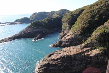 Coastal Scenery in Hyuga City