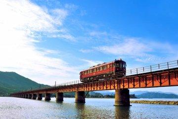 Le Train de Luxe Matsu à Kyoto