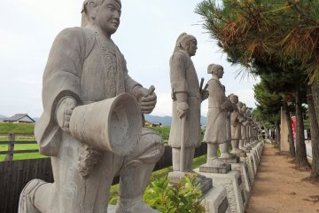 Oishi Jinja:  Honoring 47 Samurai