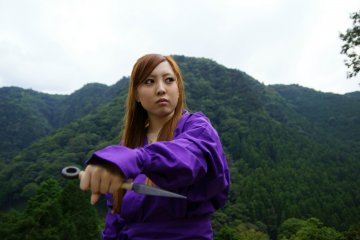 Ninja Training at the Akame 48 Waterfalls
