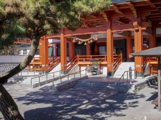 Главная святыня храма Камоэ