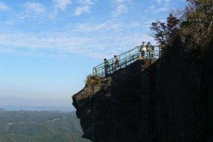 La vue depuis Nokogiri-yama